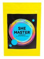 "Соль для ванн ""She Master"" (150 г; голубой)"