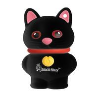 USB Flash Drive 16Gb SmartBuy Wild series Catty (Black)