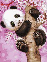 "Картина по номерам ""Медвежонок панды"" (300х400 мм; арт. PC3040052)"