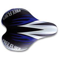 """Седло для велосипеда """"1216"""" (чёрно-синее)"""