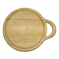 Доска разделочная деревянная (280х340х16 мм; арт. 9/668)