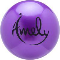 Мяч для художественной гимнастики AGB-201 (15 см; фиолетовый)