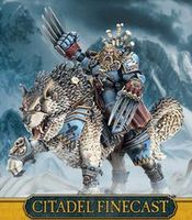 """Миниатюра """"Warhammer 40.000. Finecast: Space Wolves Canis Wolfborn"""" (53-40)"""