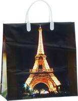 "Пакет пластиковый подарочный ""Эйфелева башня"" (30х30х10 см; арт. BAM 40)"
