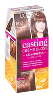 "Краска-уход для волос ""Casting Creme Gloss"" (тон: 600, темно-русый)"
