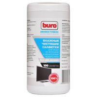 Чистящие влажные салфетки Buro BU-All_screen для экранов и мониторов (100 шт.)