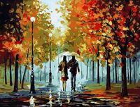 "Картина по номерам ""Осенняя прогулка"" (400х500 мм; арт. GX8144)"