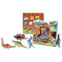 """Бумага цветная для оригами """"Динозавры"""" (200х200 мм; 14 листов)"""