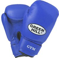 Перчатки боксёрские GYM BGG-2018 (14 унций; синие)