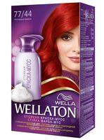 """Краска-мусс для волос """"Wellaton"""" (тон: 77/44, насыщенный красный)"""
