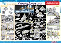 """Линкор """"Scharnhorst"""" (масштаб: 1/350)"""
