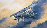 """Истребитель """"CR.42 LW"""" (масштаб: 1/72)"""