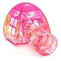 """Детская игровая палатка """"Winx"""" (с тоннелем; арт. GFA-0672-R1)"""