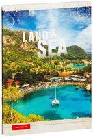 """Тетрадь в клетку """"Land & Sea"""" (48 листов)"""