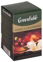 """Чай черный листовой """"Greenfield. Vanilla Cranberry"""" (100 г)"""