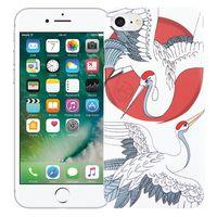"Чехол для iPhone 7/8 ""Журавли"" (белый)"