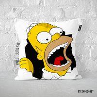 """Подушка """"Гомер Симпсон"""" (497)"""