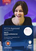 ACCA F4 Corporate and Business Law (Global). Practice and Revision Kit