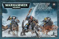 Warhammer 40.000. Space Wolves. Thunderwolf Cavalry (53-09)