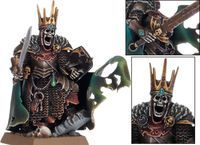 "Миниатюра ""Warhammer FB. Vampire Counts Wight King"" (91-31)"