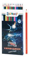 "Набор карандашей цветных ""Space Battle"" (12 цветов)"
