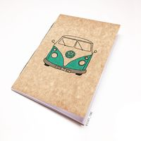 "Блокнот крафт ""Volkswagen"" А7 (арт. 721)"