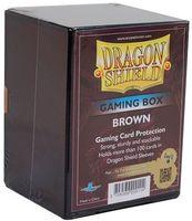 """Коробочка для карт """"Dragon Shield"""" (100 карт; коричневая)"""