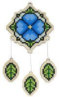 "Алмазная вышивка-мозаика ""Брелок. Ловец снов"" (73х77 мм; арт. WWP409)"