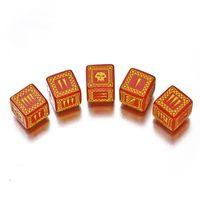 """Набор кубиков """"Орки"""" (5 шт, красные)"""