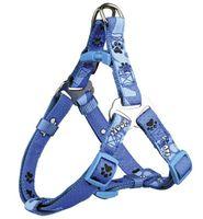 "Шлея для собак ""Modern Art Harness Woof"" (размер S, 40-50 см, голубой, арт. 15232)"