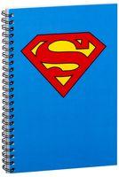 """Блокнот в клетку """"Супермен"""" A5 (арт. 988)"""