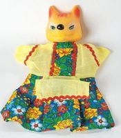 "Мягкая игрушка на руку ""Лиса"" (25 см)"