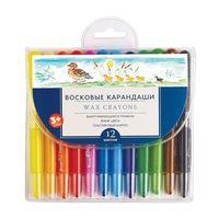 """Набор карандашей восковых """"MultiColor"""" (12 цветов)"""