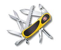 "Нож перочинный Victorinox ""EvoGrip S18"" желтый (14 функций)"