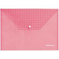 "Папка-конверт ""Envelope Folder"" (А4; прозрачная; красная)"