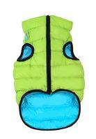 "Куртка двусторонняя ""Airy Vest"" (38-40 см; салатово-голубая; арт. 1616)"