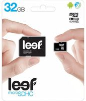 Карта памяти Leef microSDHC (Class 10) 32GB + адаптер [LMSA0KK032R5]