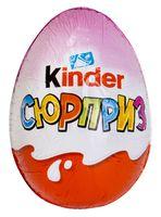 """Яйцо шоколадное """"Kinder Сюрприз"""" (20 г; арт. OsnС9107)"""