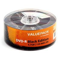 Диск DVD-R 4.7Gb 8x Traxdata ValuePack Bulk 25