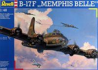 "Сборная модель ""Бомбардировщик Boeing-17F ""Memphis Belle"" (масштаб: 1/48)"