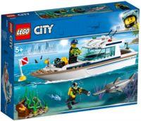 "LEGO City ""Яхта для дайвинга"""
