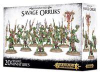 Warhammer Age of Sigmar. Bonesplitterz. Savage Orruks (89-19)