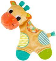 """Погремушка-прорезыватель """"Самый мягкий друг. Жираф"""""""