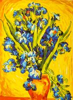 "Картина по номерам ""Ван Гог. Ирисы"" (500x650 мм; арт. MMC103)"