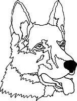 "Картина из песка ""Собака"" (210х290 мм)"