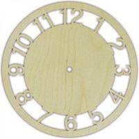"Заготовка для часов ""Круг с арабскими цифрами"" (220 мм)"
