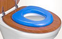 Накладка для унитаза детская (голубая)