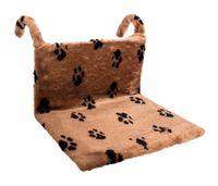 "Гамак для кошек ""Лапки"" (43х32х20 см; коричневый)"
