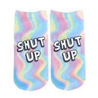 "Носки женские ""Shut up"""