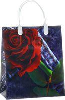 """Пакет пластиковый подарочный """"Rose"""" (26х23х10 см; арт. BAS 28)"""